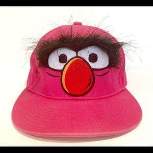 Disney Muppet Sesame Street Pink Animal Cap Hat